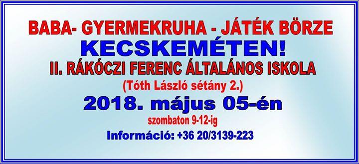 efd56c7d58 Bababörze Kecskeméten at II.Rákóczi Ferenc Általános Iskola ...