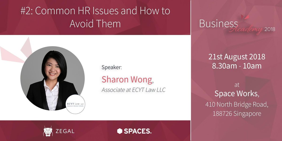 Zegal Business Academy 2 - Common HR Issues and How to Avoid Them