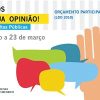 Oramento Participativo (LDO 2018) - Vila In Aviao e regio