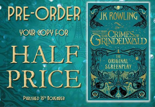 Book Launch Fantastic Beasts - The Crimes of Grindelwald