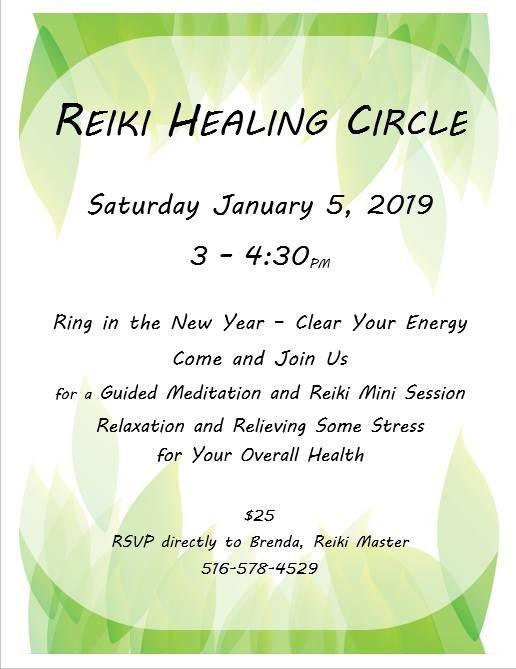 Reiki Healing Circle at Pagoda Acupuncture & Herbal Healing