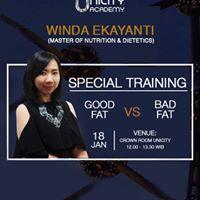 Unicity Academy &quotGood Fat VS Bad Fat&quot