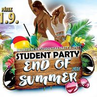 Student party - End of Summer 2017   Nebe Kladno 1.9.2017