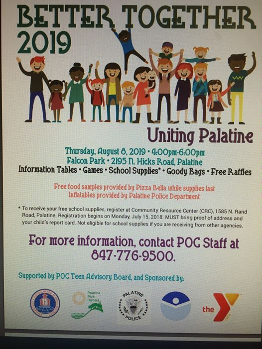 Better Together at Falcon Park Recreation Center, Palatine