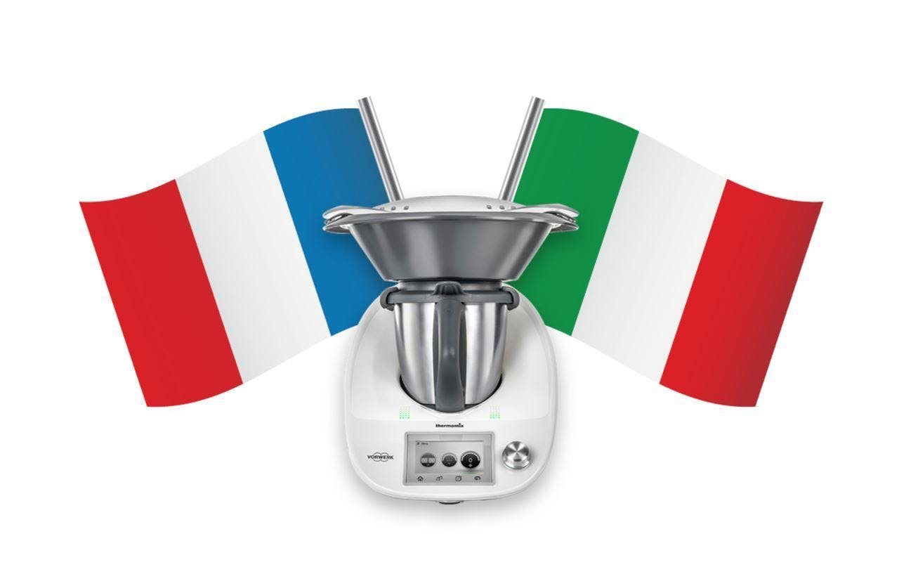Italy meets France\