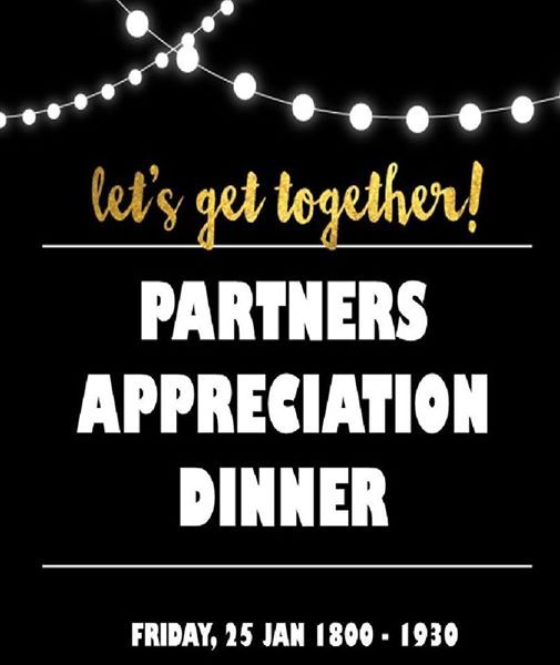Partners Appreciation Dinner 2019