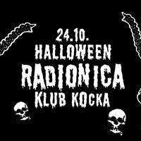 Halloween radionica  Klub Kocka