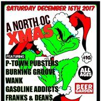 XMAS w P-Town Pubsters WANK Burnin Groove Gasoline Addicts
