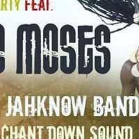 Reggae Massive Afro Moses Tour with Ras Jahknow Band and Guests