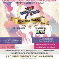 Run For Nation Marathon