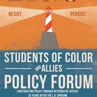 Students of Color and Allies Policy Forum 2017