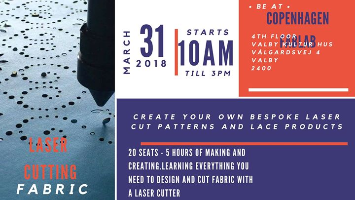 Learn To Laser Cut Fabric Basics And Software At Copenhagen Fablab