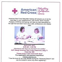 Babysitter Training with Pediatric CPRFirst Aid Certification