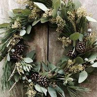 Wreath &amp Wine Workshop