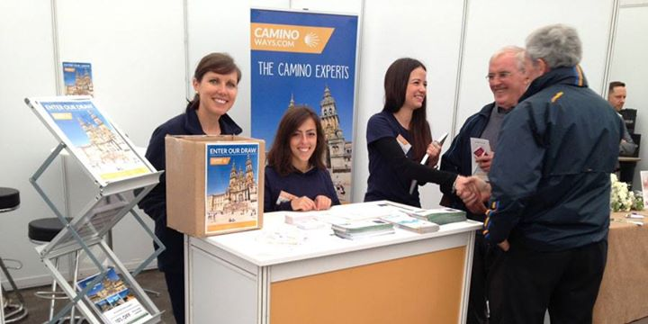 Caminoways.com at The Holiday World Show Dublin