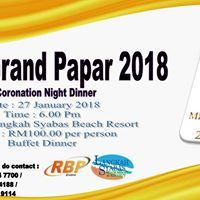 Miss Grand Papar Sabah Coronation Night