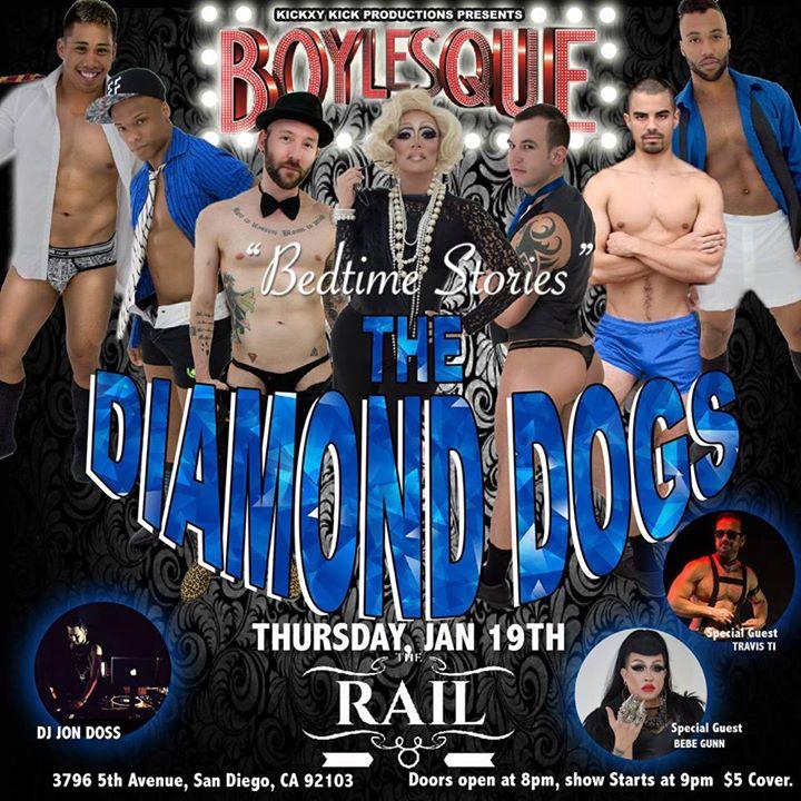 Diamond Dogs Boylesque