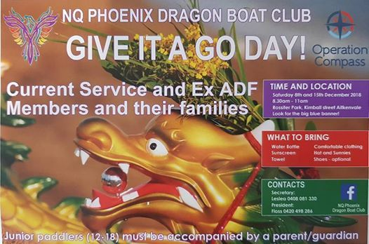 NQ Phoenix - Give it a Go - Dragon Boating
