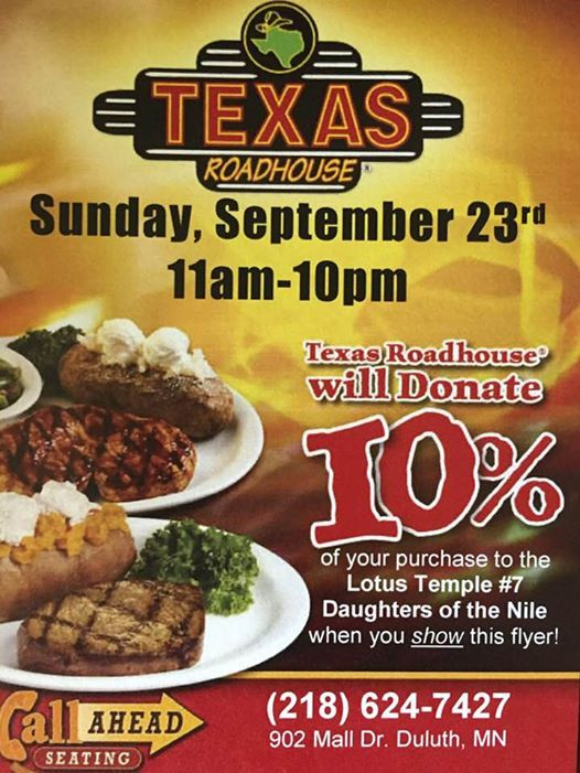 texas roadhouse fundraiser duluth rh allevents in