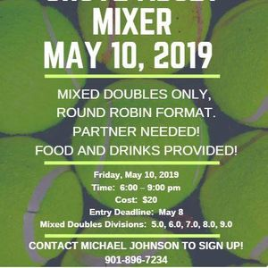 Snowden Grove Adult Mixer at Northwest Mississippi Tennis