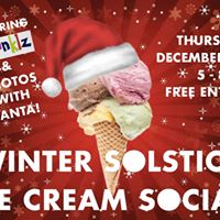 Winter Solstice Ice Cream Social with Santa