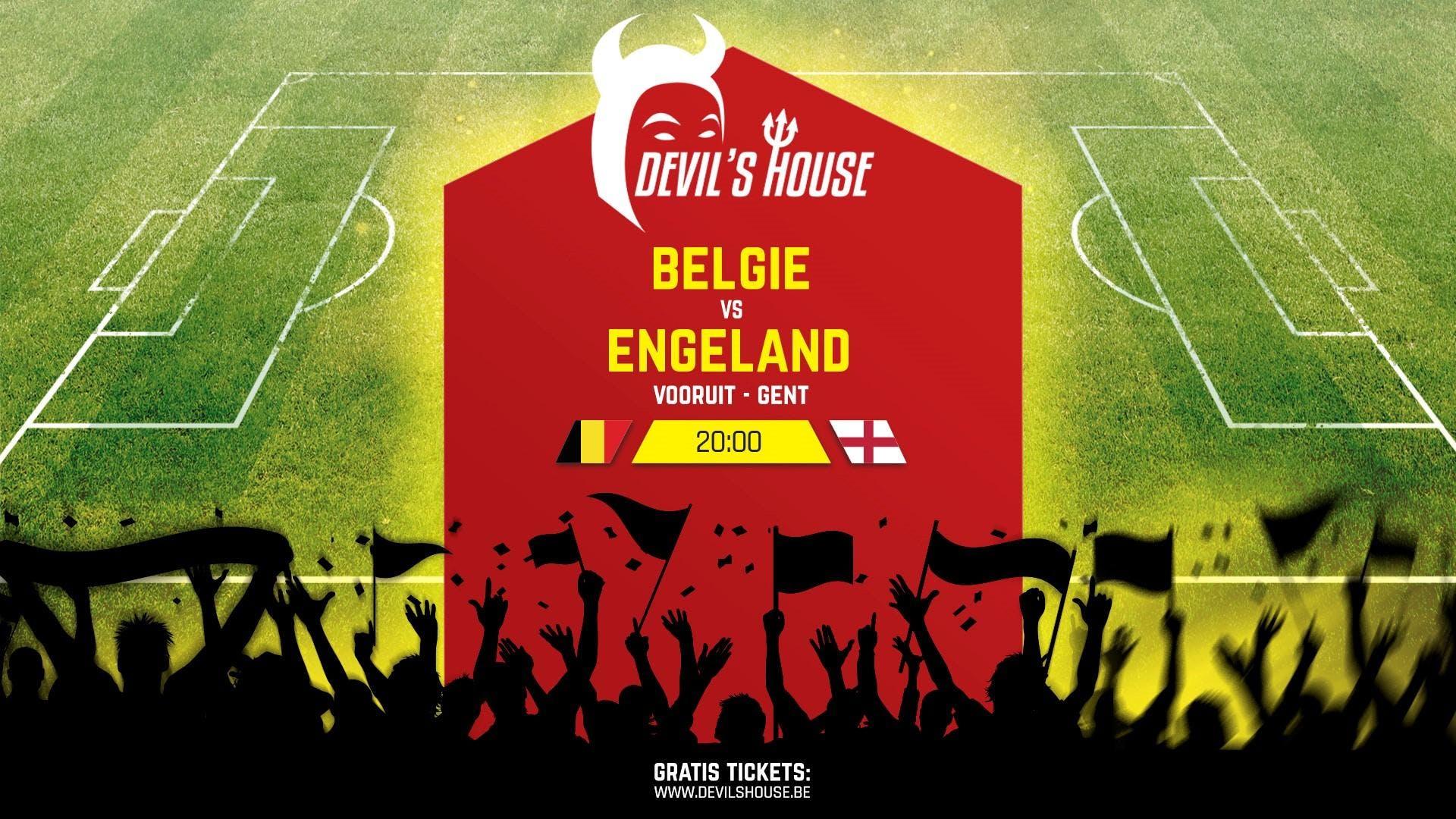 Devils House Engeland - Belgi