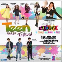 Show Teen Brasil Festival - SorocabaSP
