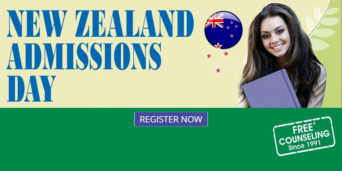 New Zealand Admissions Day in Delhi
