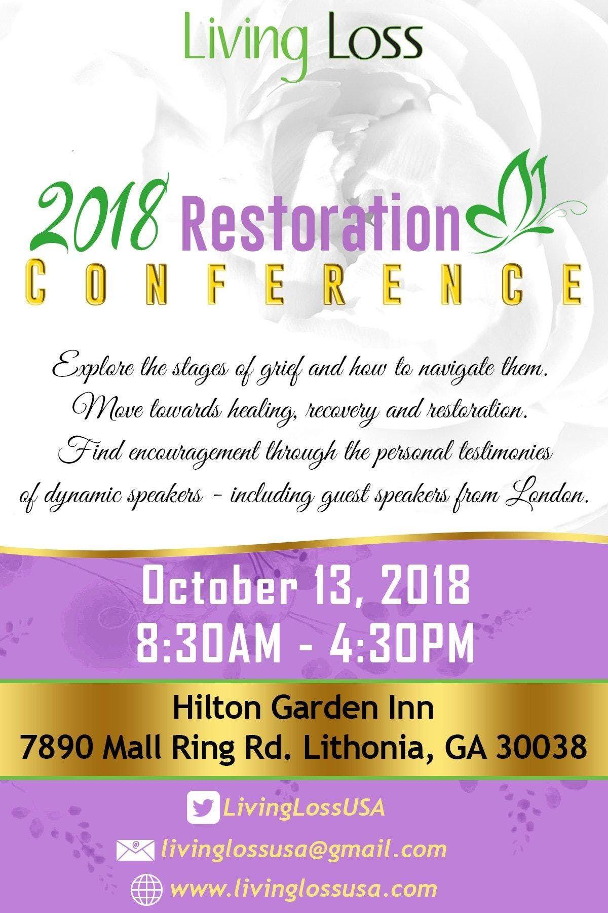 Living Loss Atlanta 2018   RESTORATION