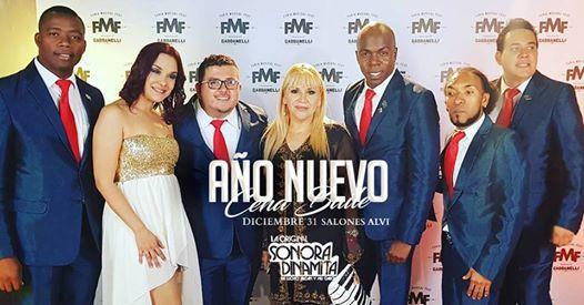 Cena Baile con La Original Sonora Dinamita de Ao Nuevo