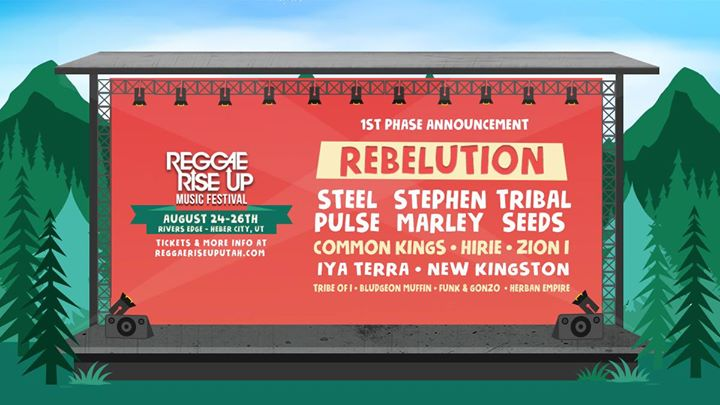Reggae Rise Up Utah Festival 2018