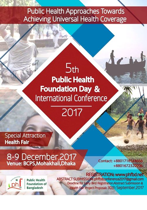 5th Public Health Foundation Day and International Conference17