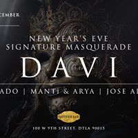 Pattern Bar Presents NYE Signature Masquerade