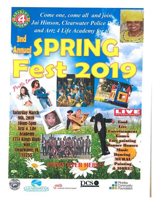 Pretti Emage Perfoming Live at Spring Fest 2019