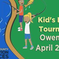 Owen Pond Kids Fishing Tournament