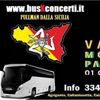 VASCO Modena 2017 - PULLMAN dalla SICILIA Agrigento Messina Catania Siracusa Caltanissetta - info 334.8976713
