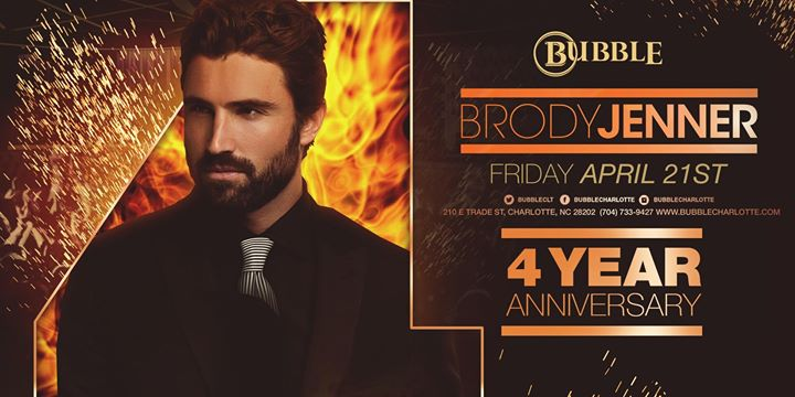 Bubbles 4th Anniversary Party Hosted by Brody Jenner