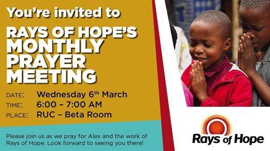 Rays of Hope Prayer meeting