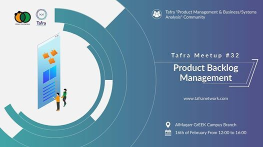 Tafra Meetup 32 Product Backlog Management