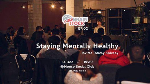 Brain Stock Staying Mentally Healthy  Invitat Tommy Kolcsey