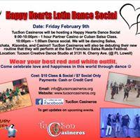 Happy Hearts Dance Social Presented by TucSon Casineros
