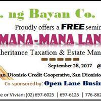 Mana Mana Lang Free Seminar