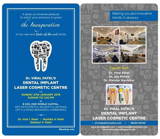 Inauguration - Dental Implant Laser Cosmetic Centre