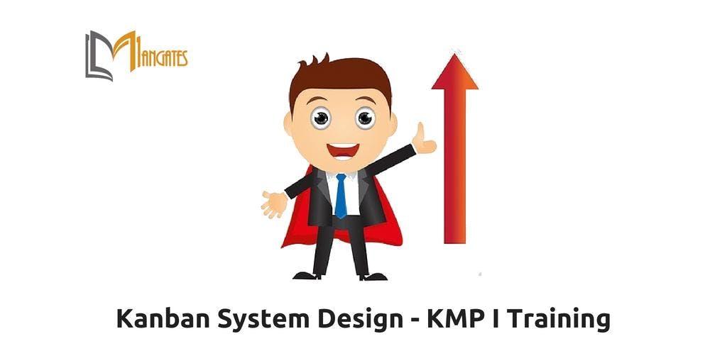 Kanban System Design  KMP I Training in Ottawa on Nov 20th-21st 2018