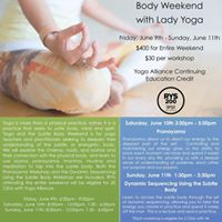 Yoga and the Subtle Body Training Weekend
