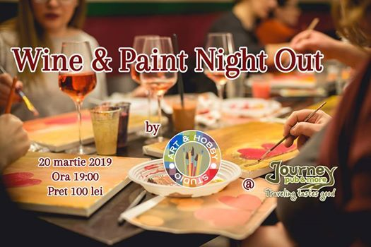 Wine & Paint Night Out