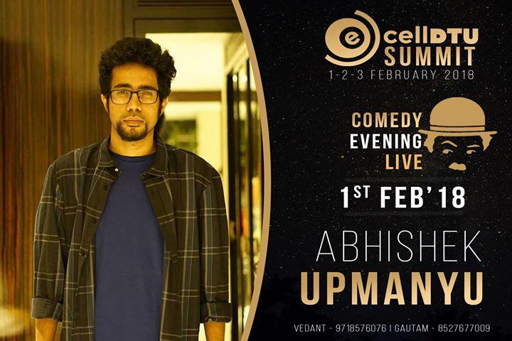 Abhishek Upmanyu LIVE E-Summit18.