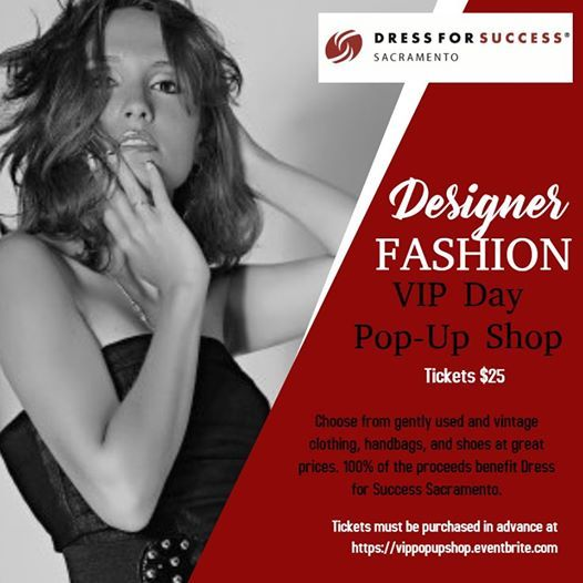 VIP Designer Pop-Up Shop at Dress for Success Sacramento