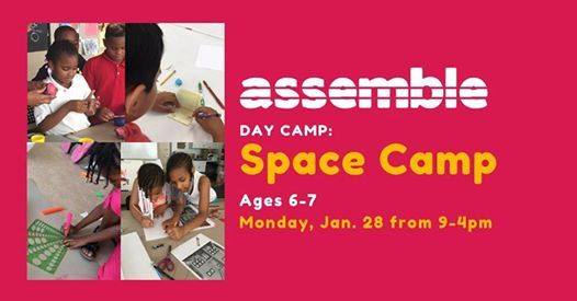 Day Camp Space Camp (Ages 6-7)