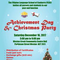 Achievement Day and Christmas Party